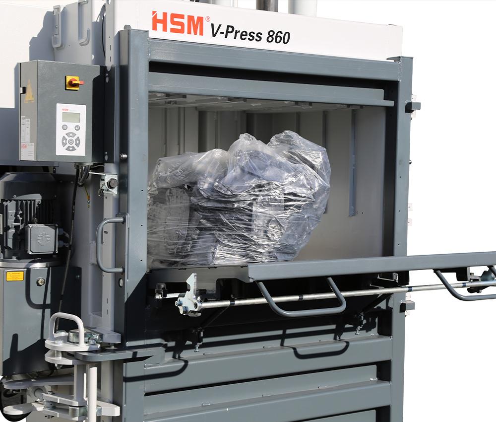 V-Press - Füllklappe 860E