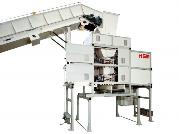 HSM TriShredder 6060 - 7,5 x 40-80mm