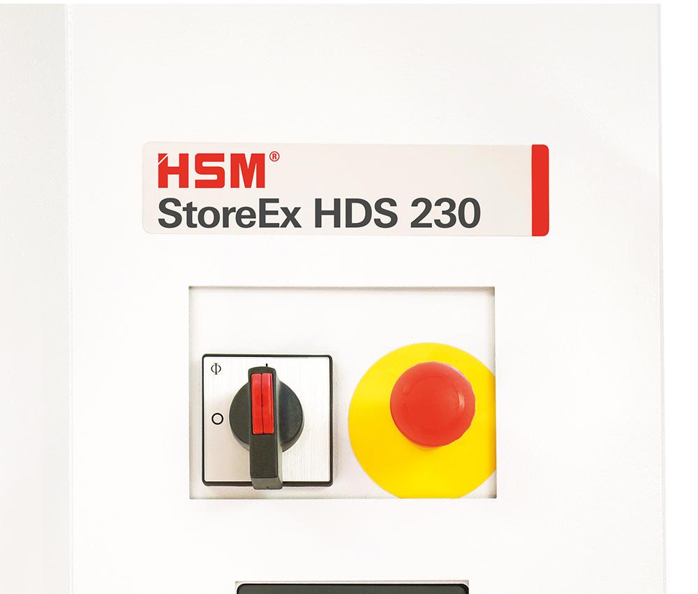 StoreEx Not-Aus-Schalter (450.2 / FA400.2 / HDS)