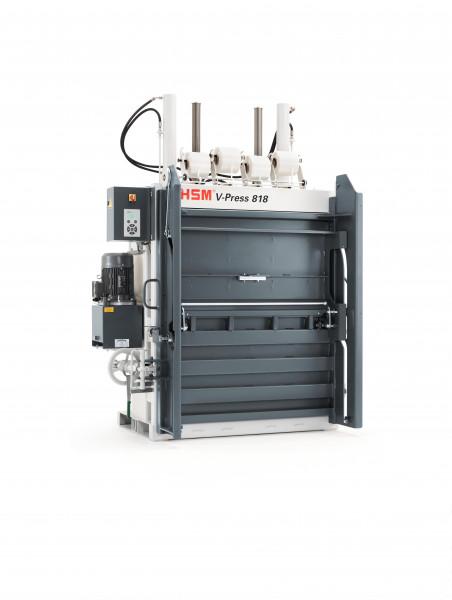 Vertikale Ballenpresse HSM V-Press 818 plus pro