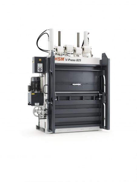 Vertikale Ballenpresse HSM V-Press 825 plus pro