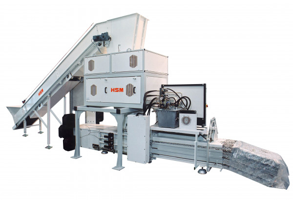 HSM DuoShredder 5750 - 4,6 x 34mm